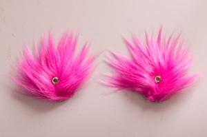 Fluffige Burlesque-Pasties