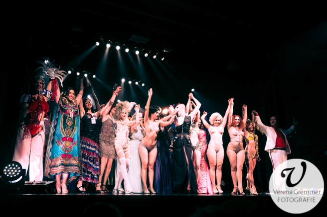 Curtain Call bei der Gala Spectacular