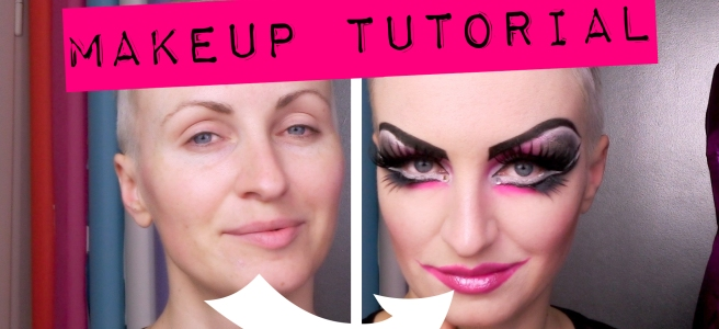 Neo Burlesque Makeup Tutorial